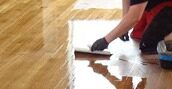 Gap filling & Finishing services provided by trained experts in Floor Sanding Putney
